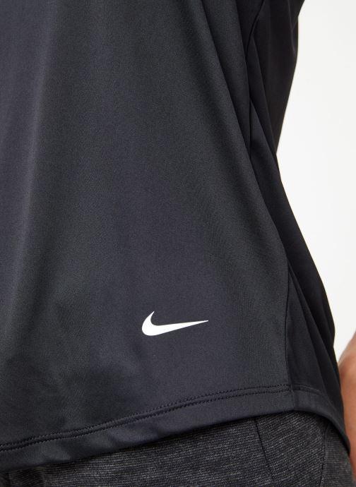 Vêtements Nike Débardeur de training Femme Nike Dry Essential Elastika Noir vue face