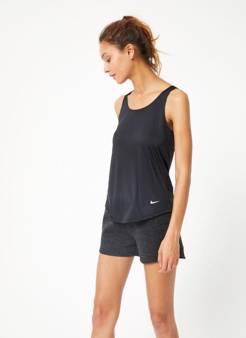 Vêtements Nike Débardeur de training Femme Nike Dry Essential Elastika Noir vue droite