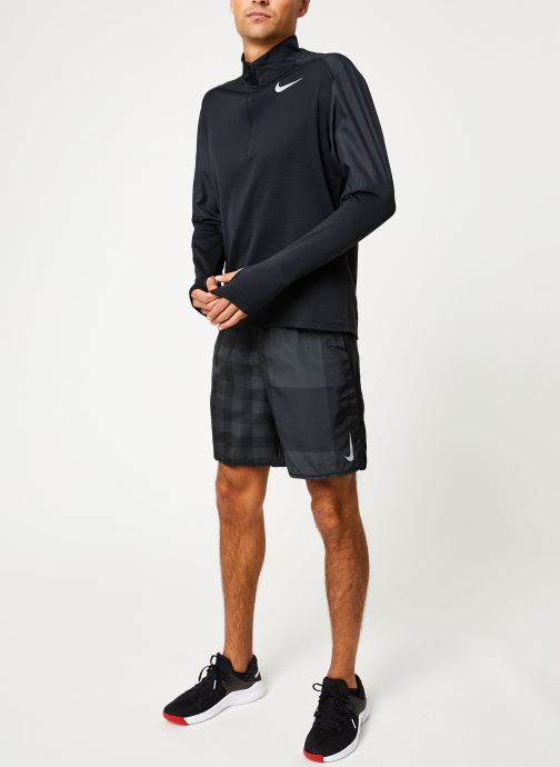 Vêtements Nike Haut de Running Homme 1/2 zip Nike Pacer Noir vue bas / vue portée sac