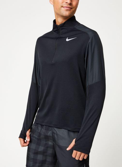 Vêtements Nike Haut de Running Homme 1/2 zip Nike Pacer Noir vue droite