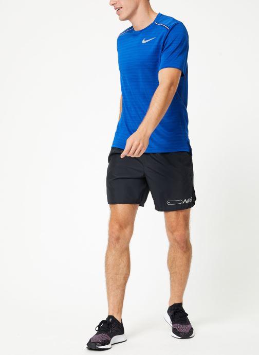 Vêtements Nike Short de running Homme Nike Air Challenger 2 en 1 Noir vue bas / vue portée sac