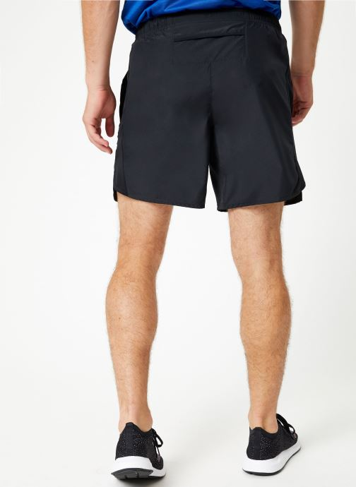 Vêtements Nike Short de running Homme Nike Air Challenger 2 en 1 Noir vue portées chaussures