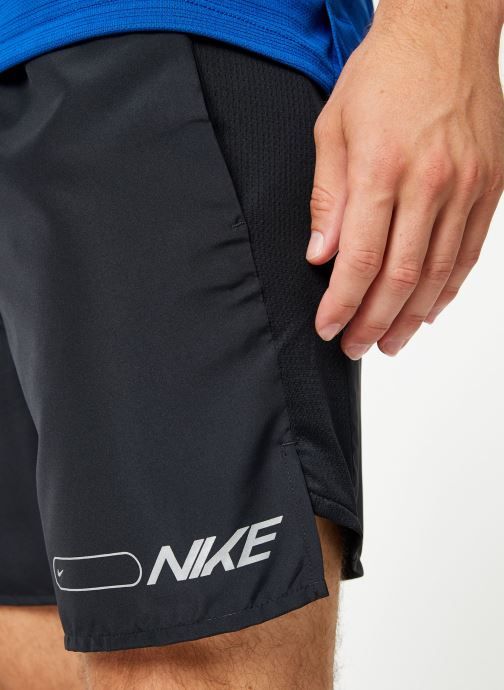 Kleding Nike Short de running Homme Nike Air Challenger 2 en 1 Zwart voorkant