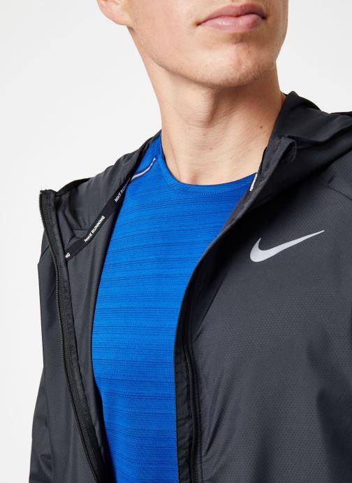 Kleding Nike Veste de running Homme Nike Essential Zwart voorkant