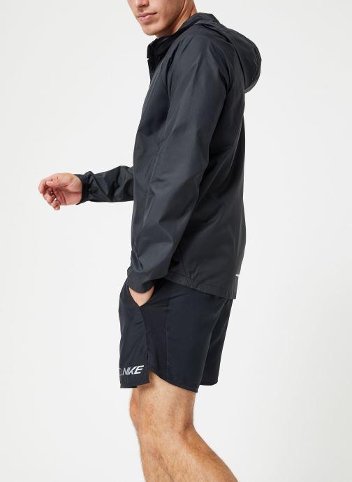 Vêtements Nike Veste de running Homme Nike Essential Noir vue droite