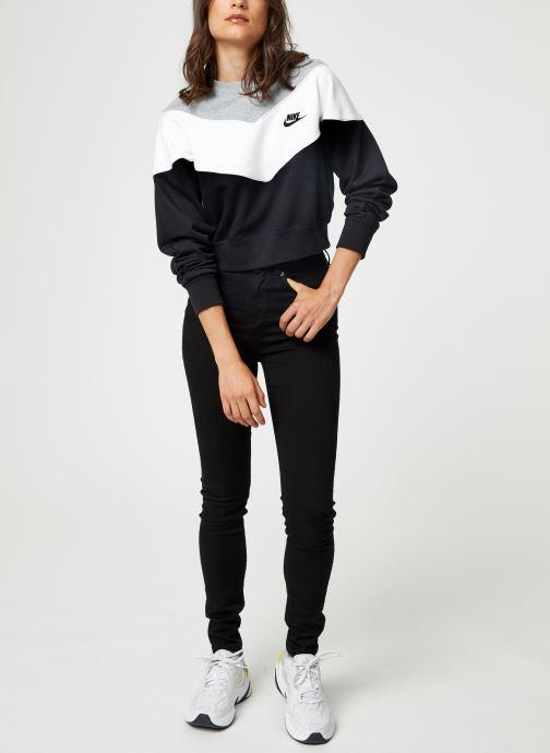 Vêtements Nike Sweat Court Femme Nike Sportswear Heritage Noir vue bas / vue portée sac