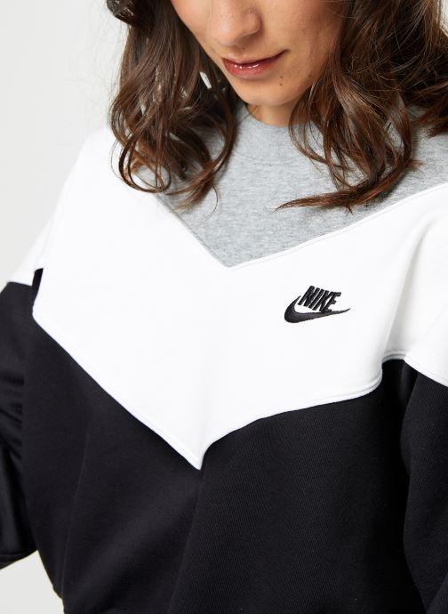 Vêtements Nike Sweat Court Femme Nike Sportswear Heritage Noir vue face