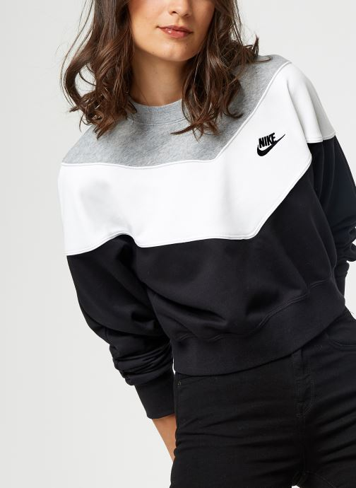 Vêtements Nike Sweat Court Femme Nike Sportswear Heritage Noir vue détail/paire