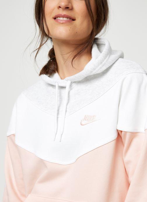 sweatshirt à capuche femme heritage nike rose