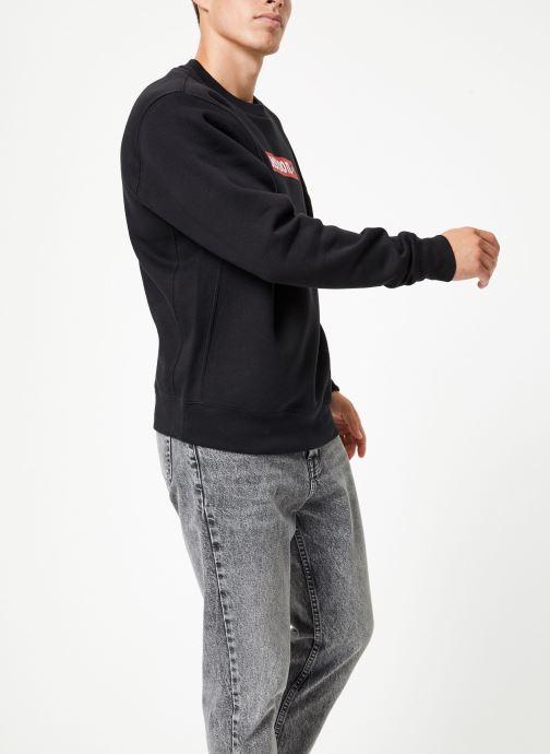 Vêtements Nike Sweat Homme Nike Sportswear Just Do It Noir vue droite