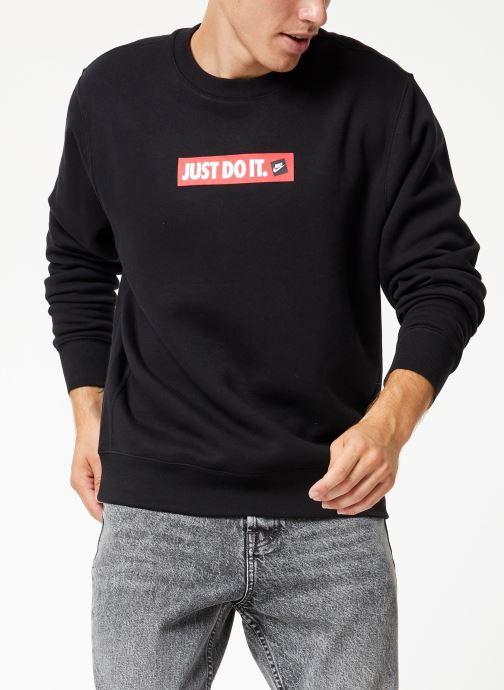 Vêtements Nike Sweat Homme Nike Sportswear Just Do It Noir vue détail/paire