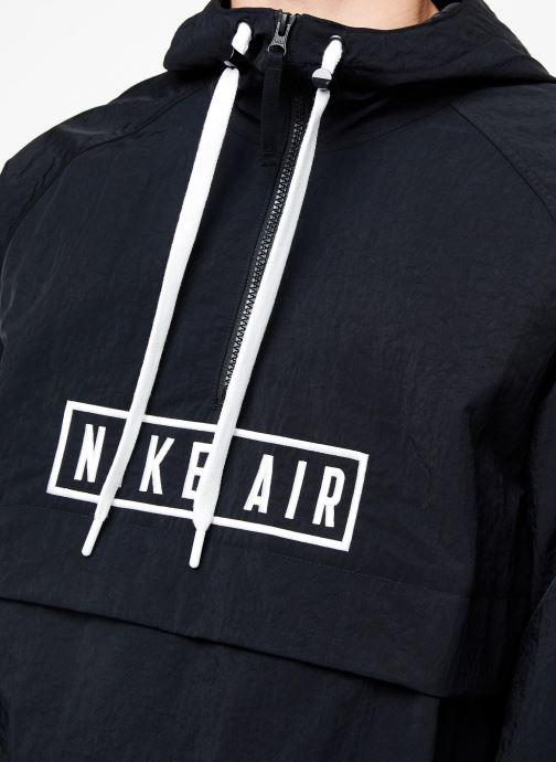 Vêtements Nike Sweat à Capuche 1/2 zip homme Nike Sportswear Air Noir vue face