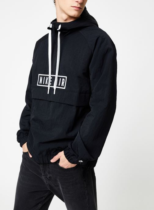 Vêtements Nike Sweat à Capuche 1/2 zip homme Nike Sportswear Air Noir vue droite