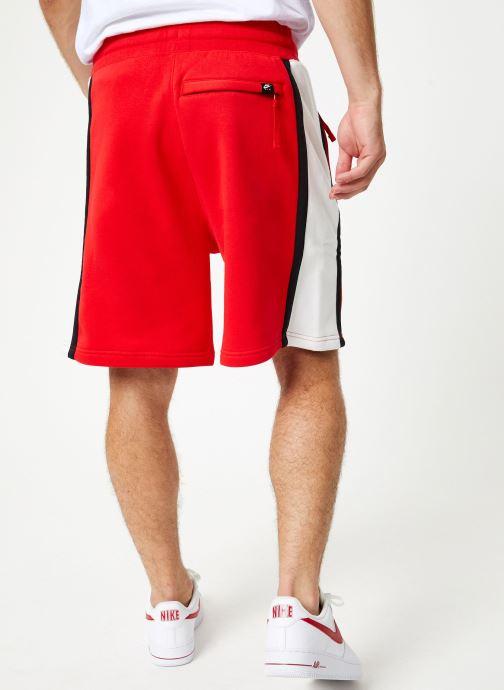 Vêtements Nike Short homme Nike Sportswear Air Rouge vue portées chaussures