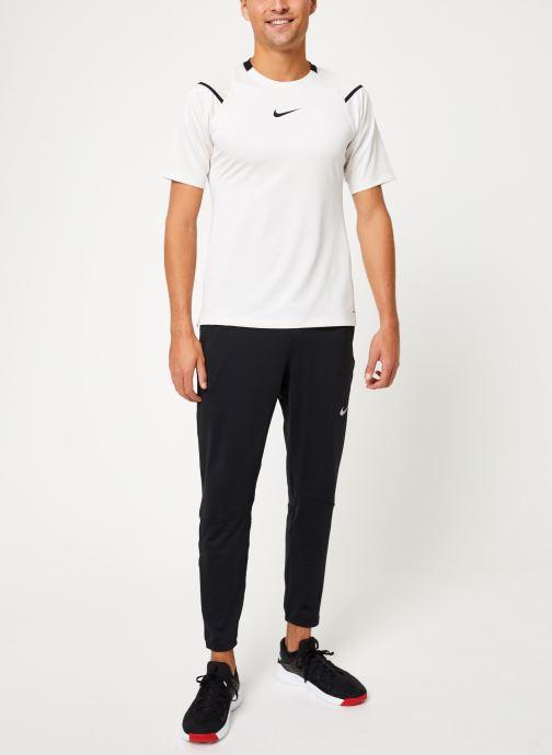 Vêtements Nike Haut de training Homme Nike pro Aeroadapt Blanc vue bas / vue portée sac