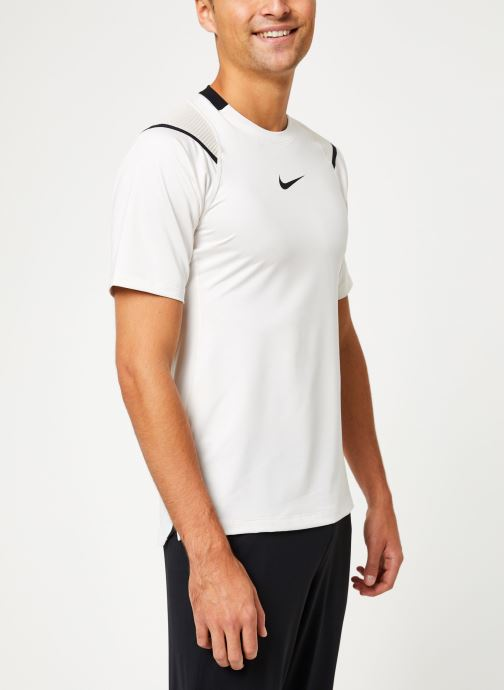 Vêtements Nike Haut de training Homme Nike pro Aeroadapt Blanc vue droite