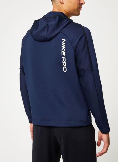 Kleding Nike Haut de Training Homme col roulé à capuche Nike Pro Blauw model