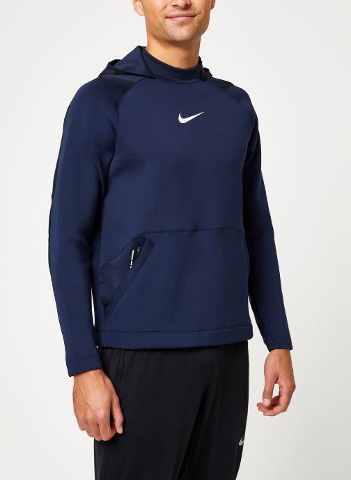 Kleding Nike Haut de Training Homme col roulé à capuche Nike Pro Blauw rechts