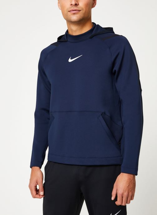 Kleding Nike Haut de Training Homme col roulé à capuche Nike Pro Blauw detail