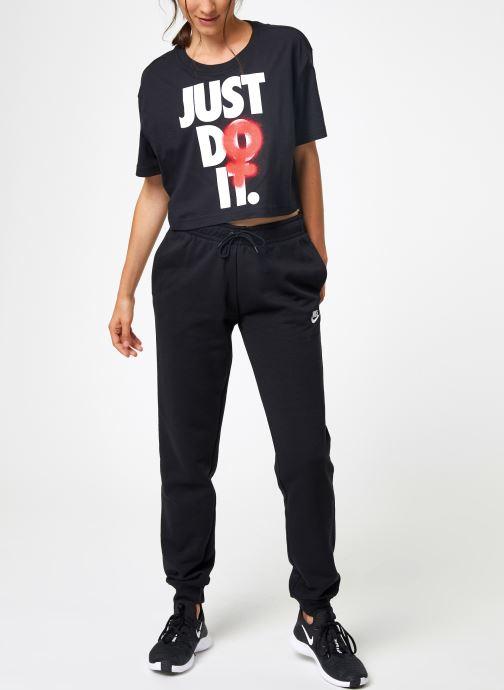Nike Tee Shirt Court femme Nike Sportswear Rebel Tøj 1 Sort
