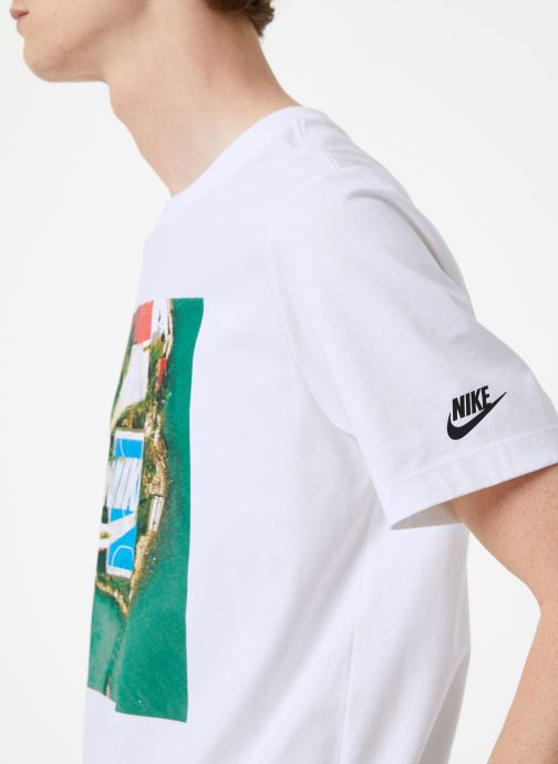 Tøj Nike Tee-Shirt Homme Nike Sportswear Court Hvid se forfra