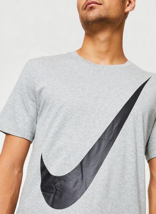 Vêtements Nike Tee-Shirt Homme Nike Sportswear big swoosh Gris vue face