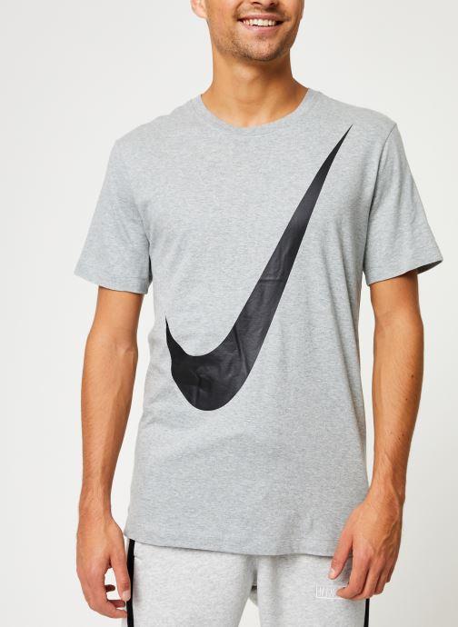 Vêtements Nike Tee-Shirt Homme Nike Sportswear big swoosh Gris vue détail/paire