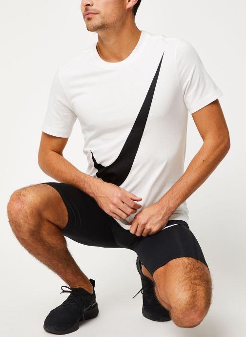 Vêtements Nike Tee-Shirt Homme Nike Sportswear big swoosh Blanc vue bas / vue portée sac