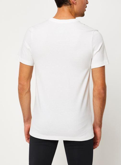 Vêtements Nike Tee-Shirt Homme Nike Sportswear big swoosh Blanc vue portées chaussures