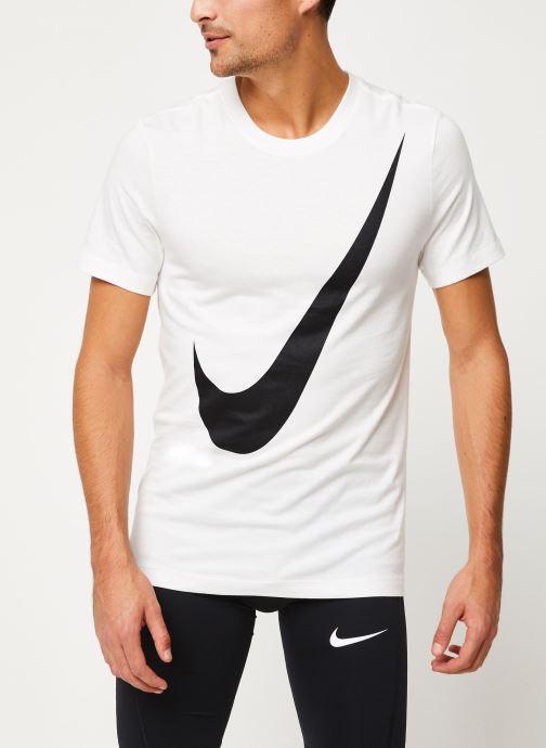 Vêtements Nike Tee-Shirt Homme Nike Sportswear big swoosh Blanc vue droite