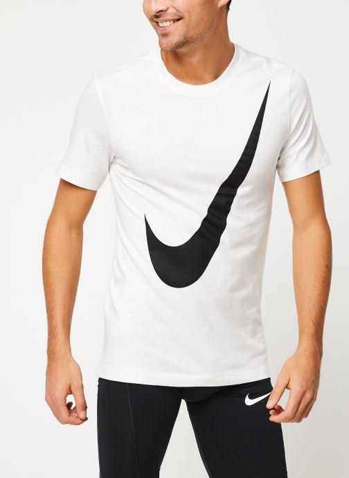 Vêtements Nike Tee-Shirt Homme Nike Sportswear big swoosh Blanc vue détail/paire