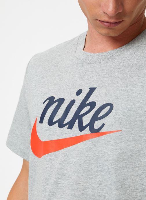 Tøj Nike Tee-Shirt Homme Nike Sportswear Heritage + Grå se forfra