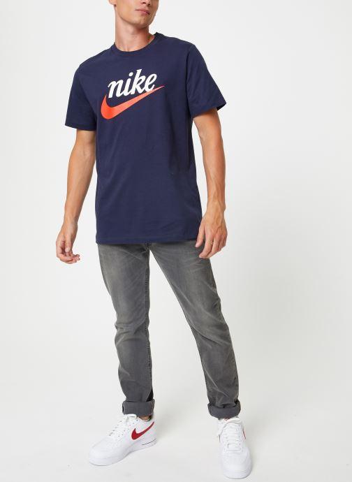 Kleding Nike Tee-Shirt Homme Nike Sportswear Heritage + Blauw onder