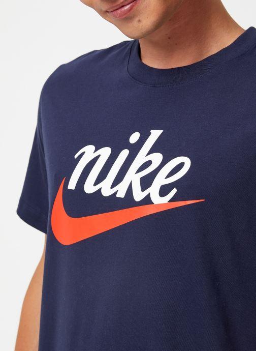 Kleding Nike Tee-Shirt Homme Nike Sportswear Heritage + Blauw voorkant