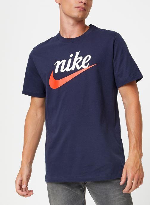 Kleding Nike Tee-Shirt Homme Nike Sportswear Heritage + Blauw rechts
