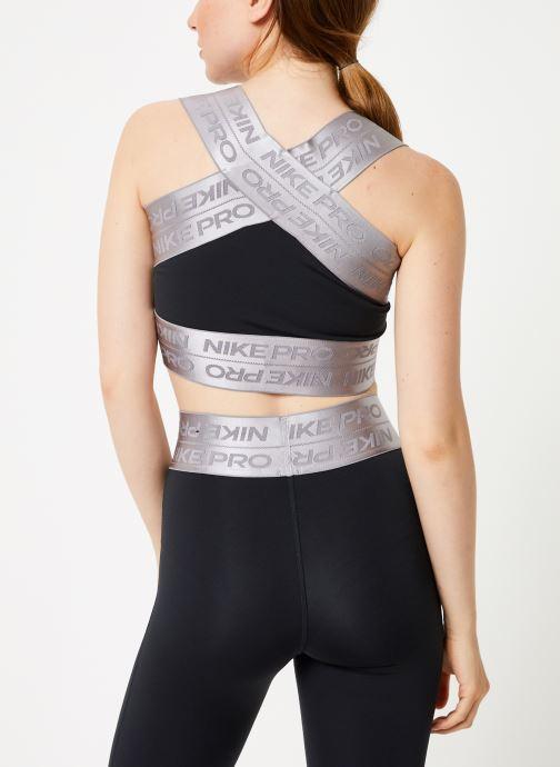 Vêtements Nike Brassière de Training femme Nike Pro Elastic Noir vue portées chaussures