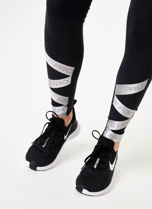 Kleding Nike Collant de Training femme 7/8 Nike Pro Elastic Zwart voorkant