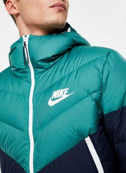 Vêtements Nike Blouson Windrunner Homme Nike Sportswear Bleu vue face