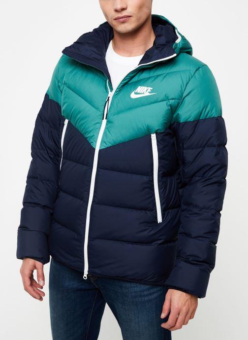 Vêtements Nike Blouson Windrunner Homme Nike Sportswear Bleu vue droite