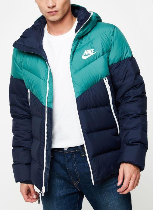 Vêtements Nike Blouson Windrunner Homme Nike Sportswear Bleu vue détail/paire