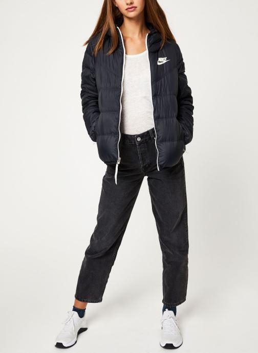 Vêtements Nike Blouson Windrunner Femme Nike Sportswear réversible Noir vue bas / vue portée sac