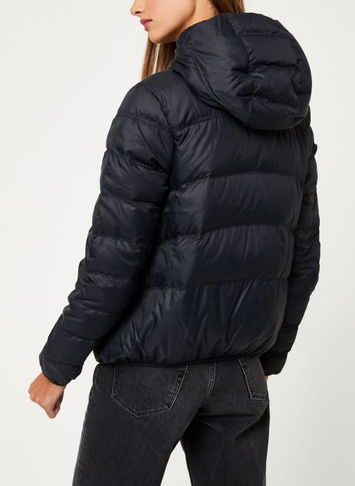 Vêtements Nike Blouson Windrunner Femme Nike Sportswear réversible Noir vue portées chaussures