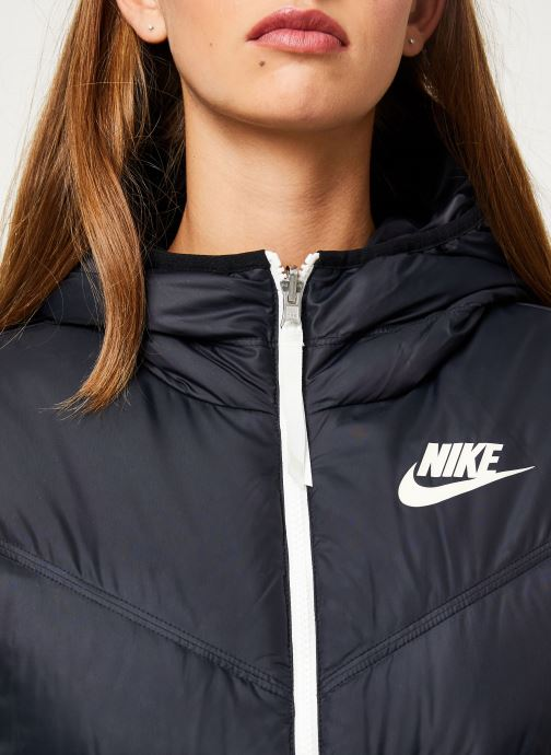 Vêtements Nike Blouson Windrunner Femme Nike Sportswear réversible Noir vue face