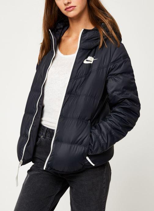 Vêtements Nike Blouson Windrunner Femme Nike Sportswear réversible Noir vue droite