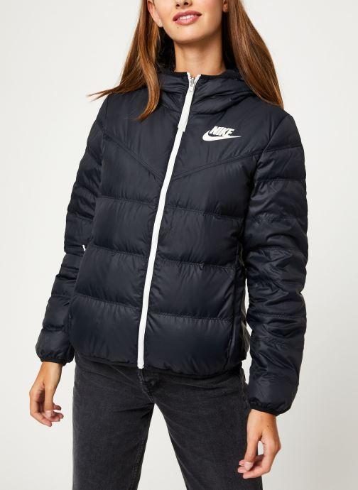Vêtements Nike Blouson Windrunner Femme Nike Sportswear réversible Noir vue détail/paire