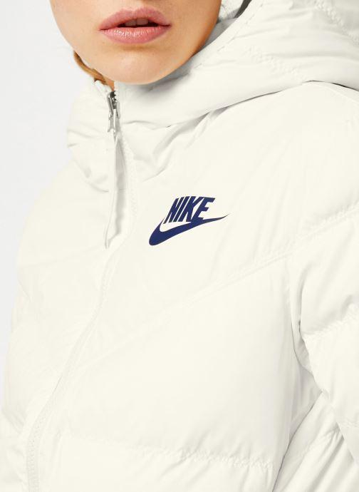Vêtements Nike Blouson Windrunner Femme Nike Sportswear réversible Blanc vue face