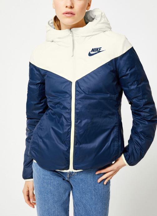 Vêtements Nike Blouson Windrunner Femme Nike Sportswear réversible Blanc vue droite