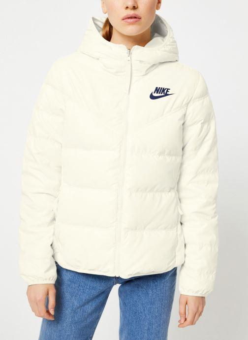 Vêtements Nike Blouson Windrunner Femme Nike Sportswear réversible Blanc vue détail/paire
