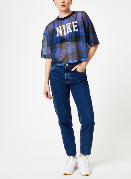Nike T-shirt - Top Femme Nike Sportswear Manches courte (Bleu) - Vêtements (405730)
