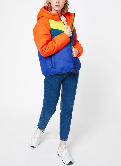 Kleding Nike Blouson Windrunner Femme Nike Sportswear Rood onder